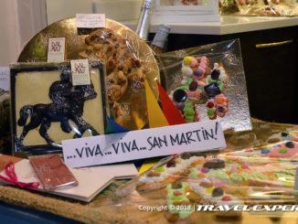 preparativi della festa di San Martino a Venezia