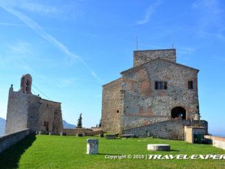 Paesaggio castello di Montebello, detto di Azzurrina