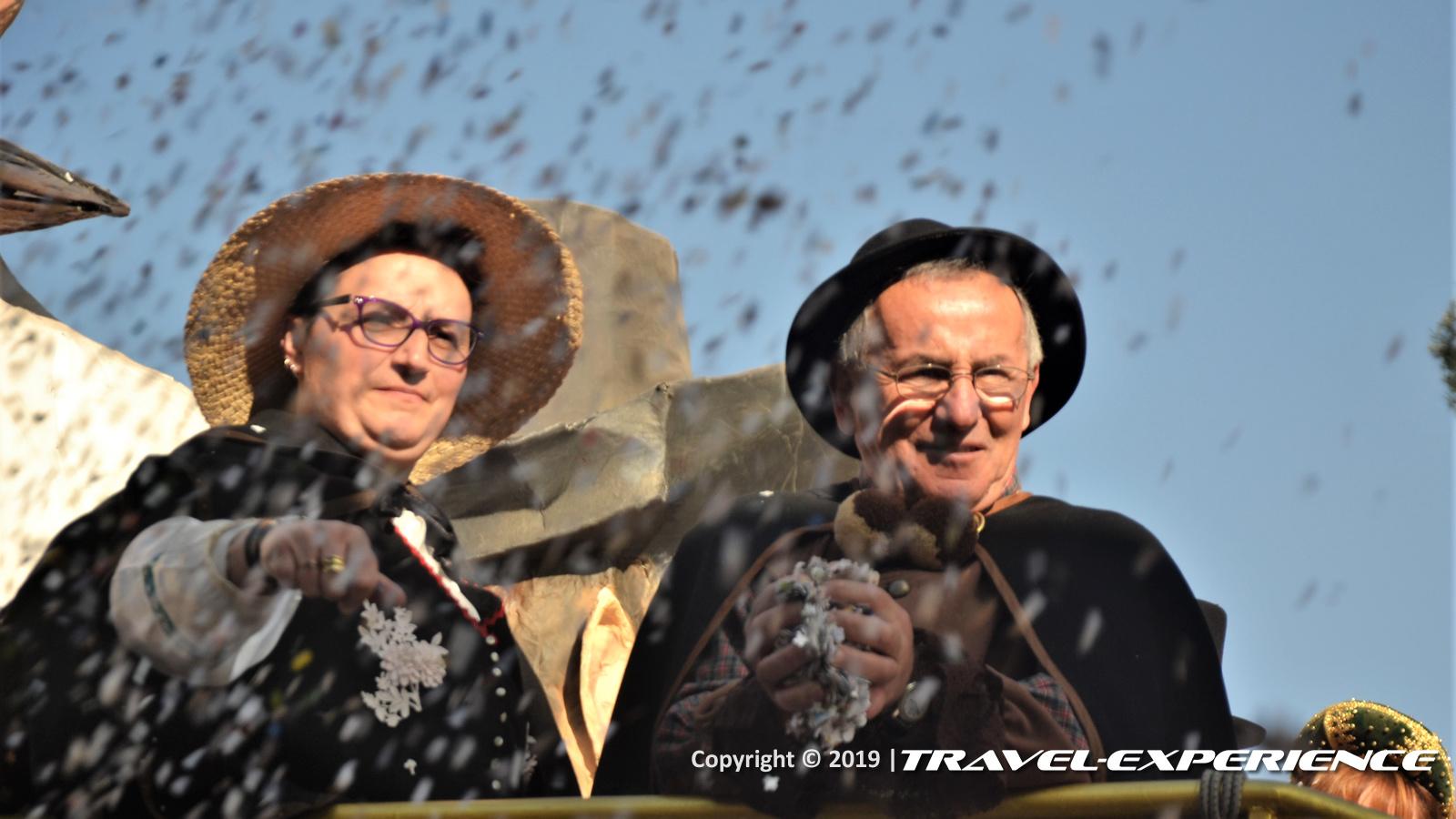 Foto maschere Pirin e Majn Carnevale di Oleggio 2019