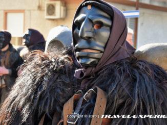 Mamuthones al Carnevale di Mamoiada