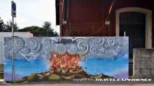 Foto Legro murales cinema al muro