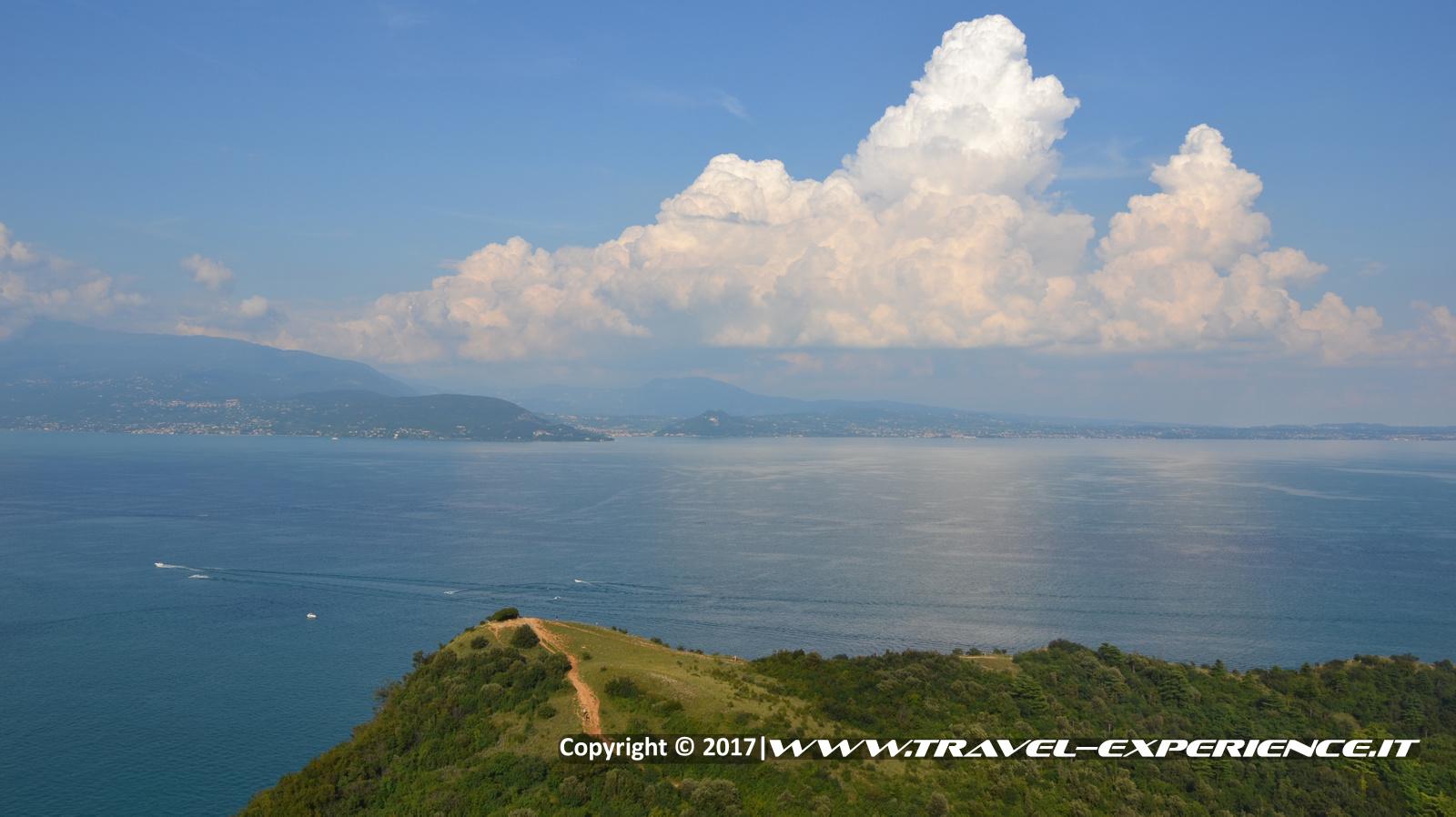foto paesaggio dalla Rocca di Manerba