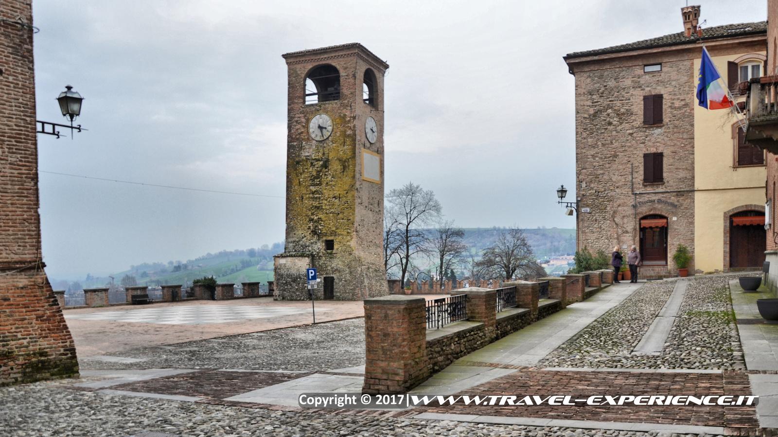 Foto piazza di Castelvetro di Modena