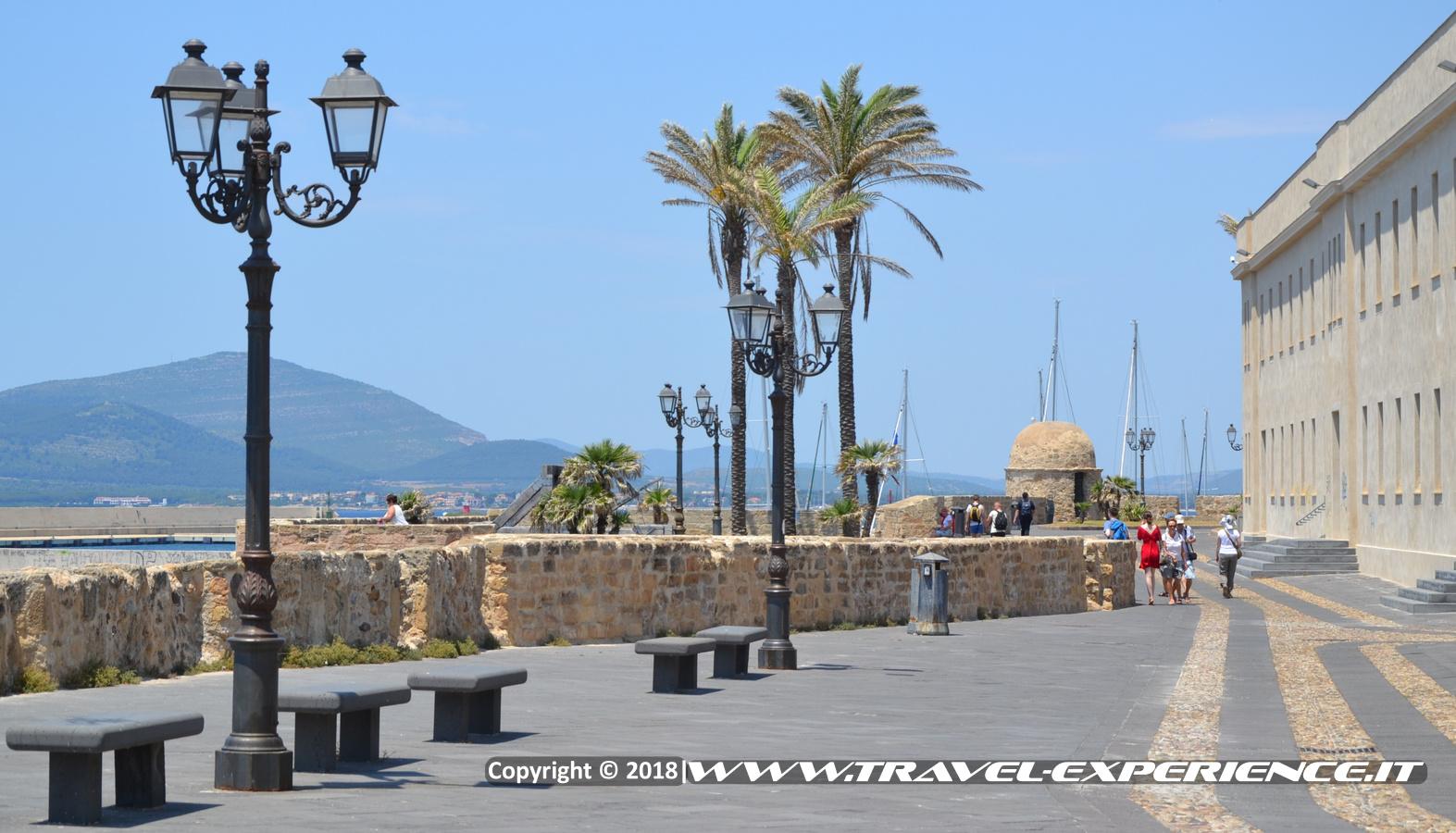 Foto della Passeggiata dei Bastioni di Alghero