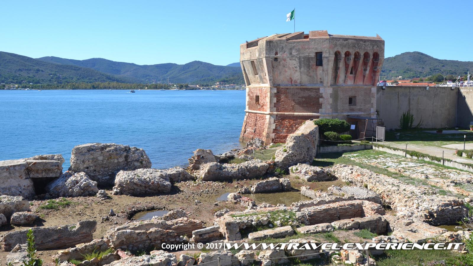 foto della torre del Martello di Portoferraio