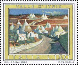 francobollo alberobello