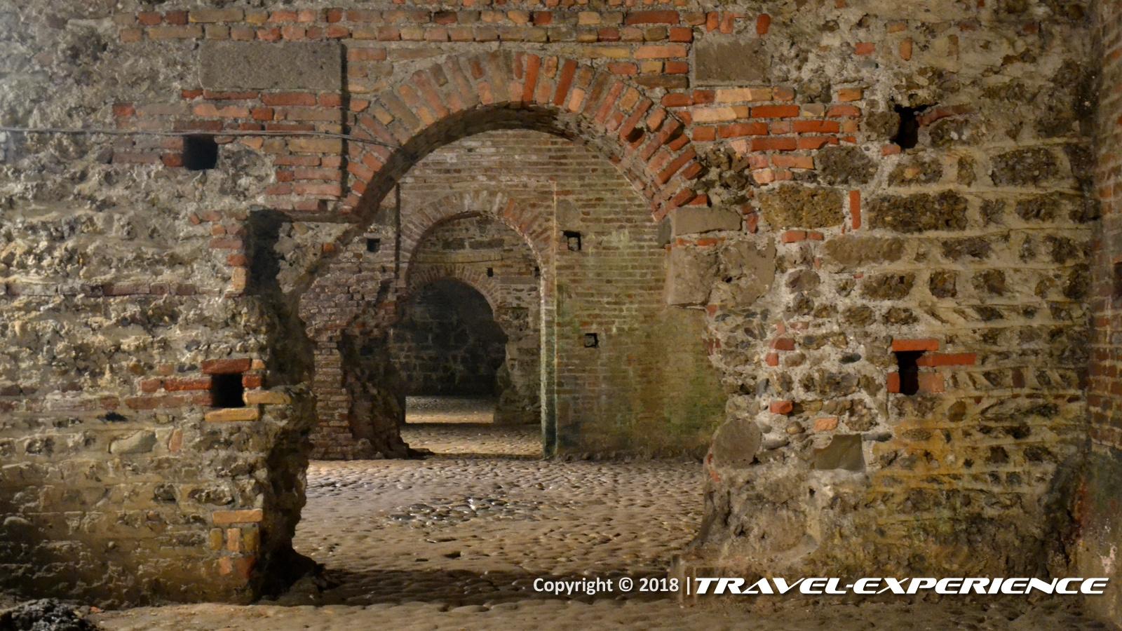 foto sotterranei castello Visconti di Trezzo sull'Adda