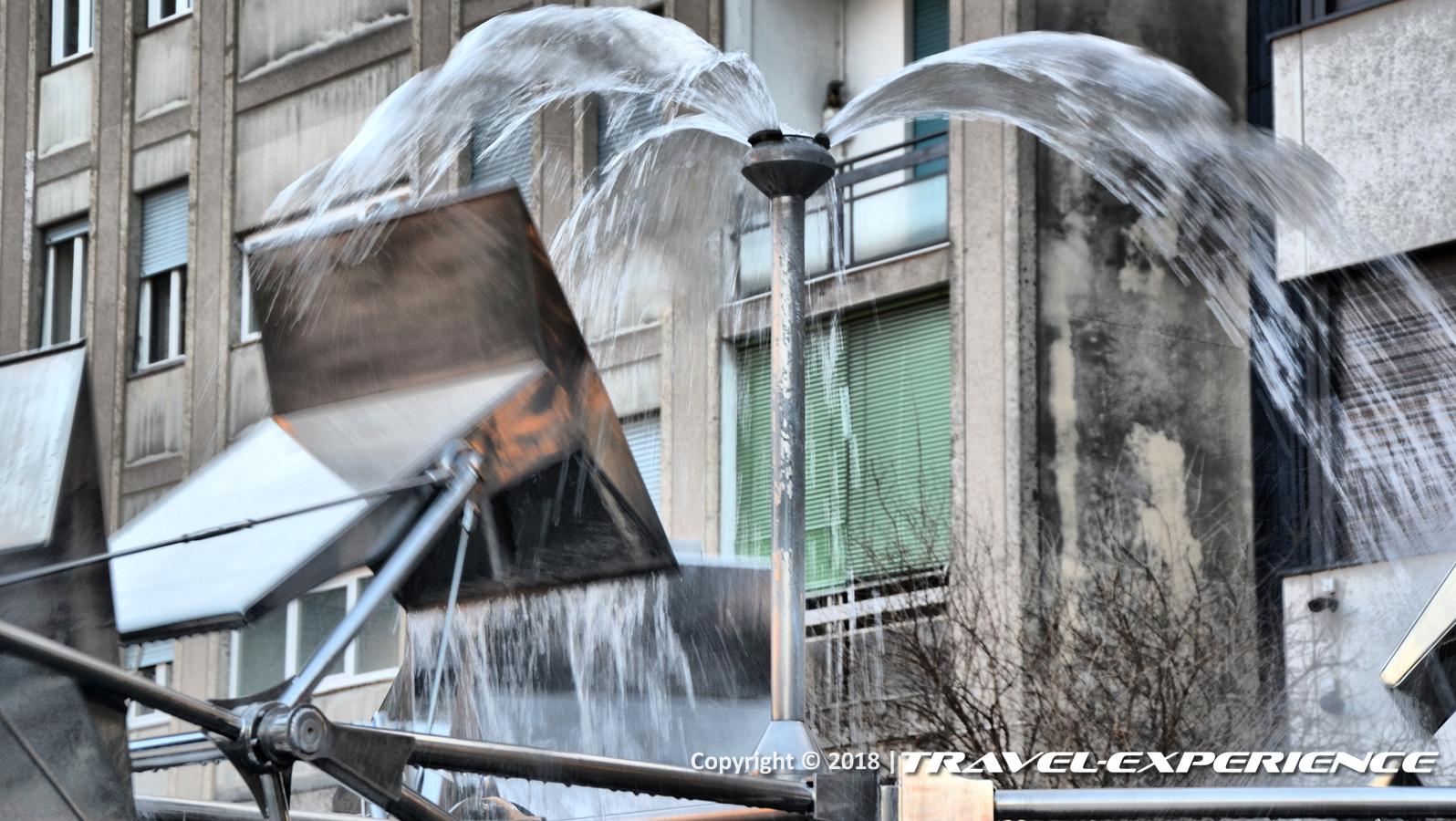 Dettaglio Water Beat di Legnano