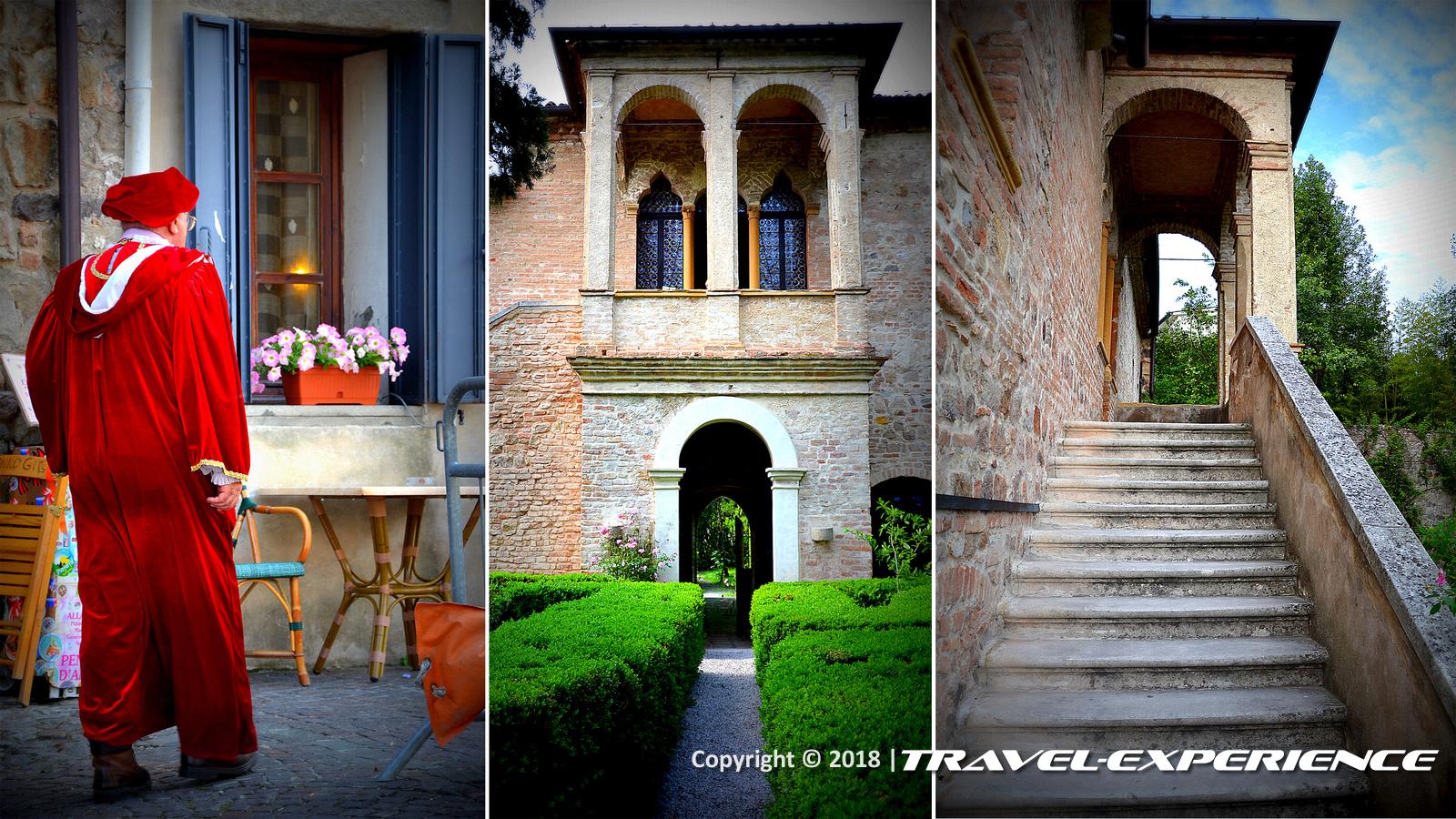 foto casa di Petrarca ad Arquà Petrarca