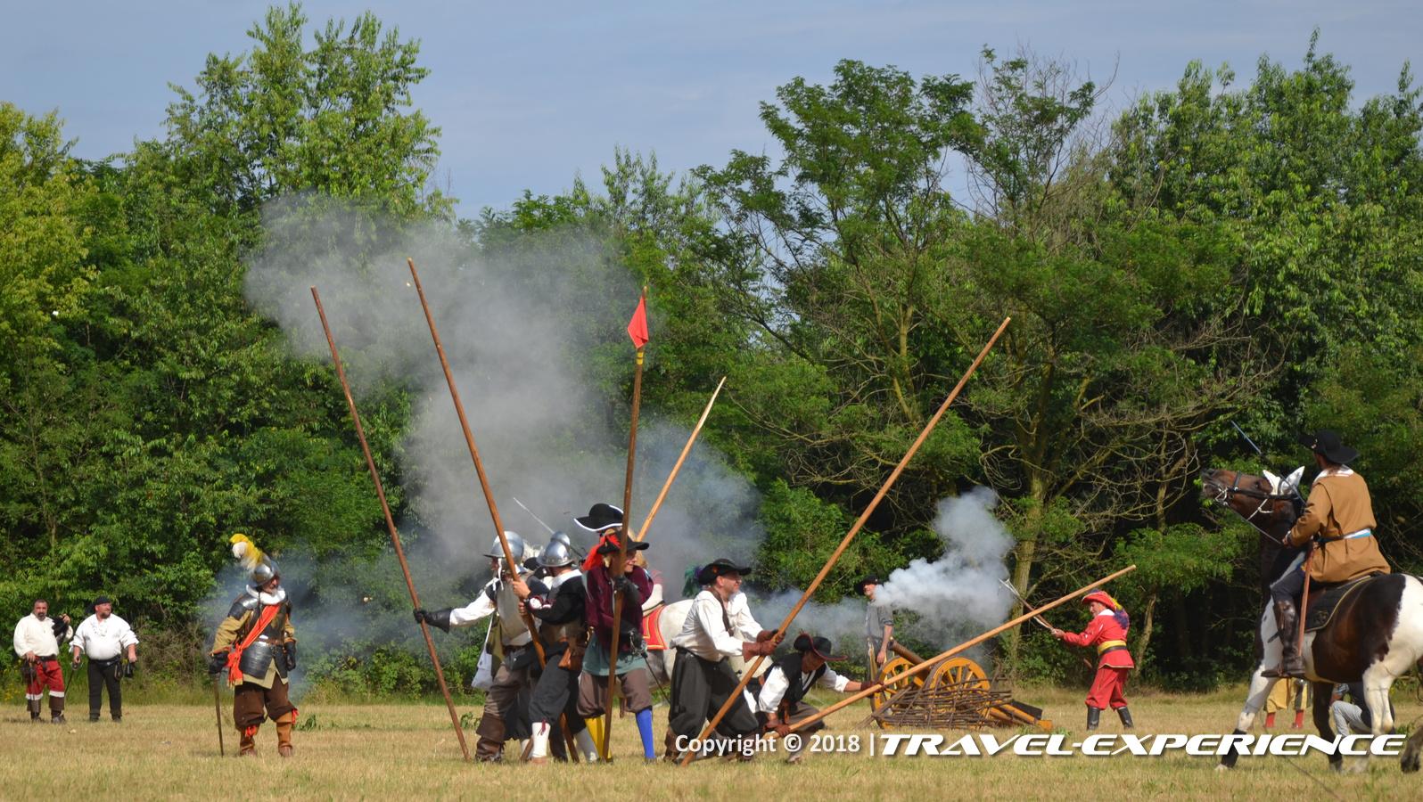 Foto battaglia di Tornavento: gruppo di picchieri