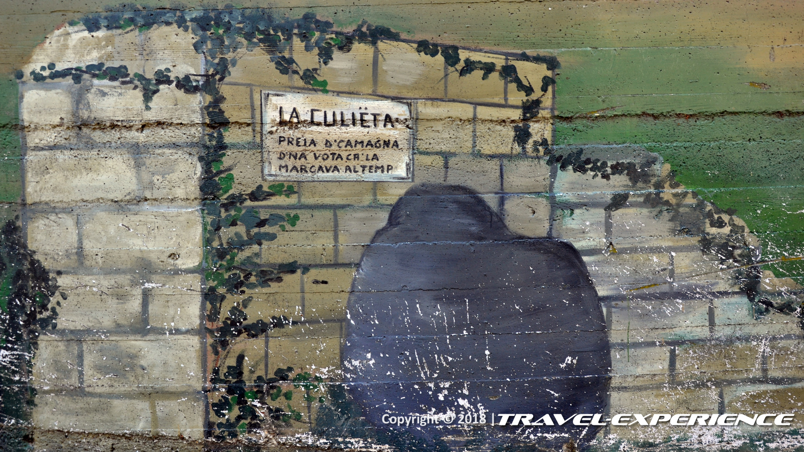 foto dettaglio murales Culieta di Camagna