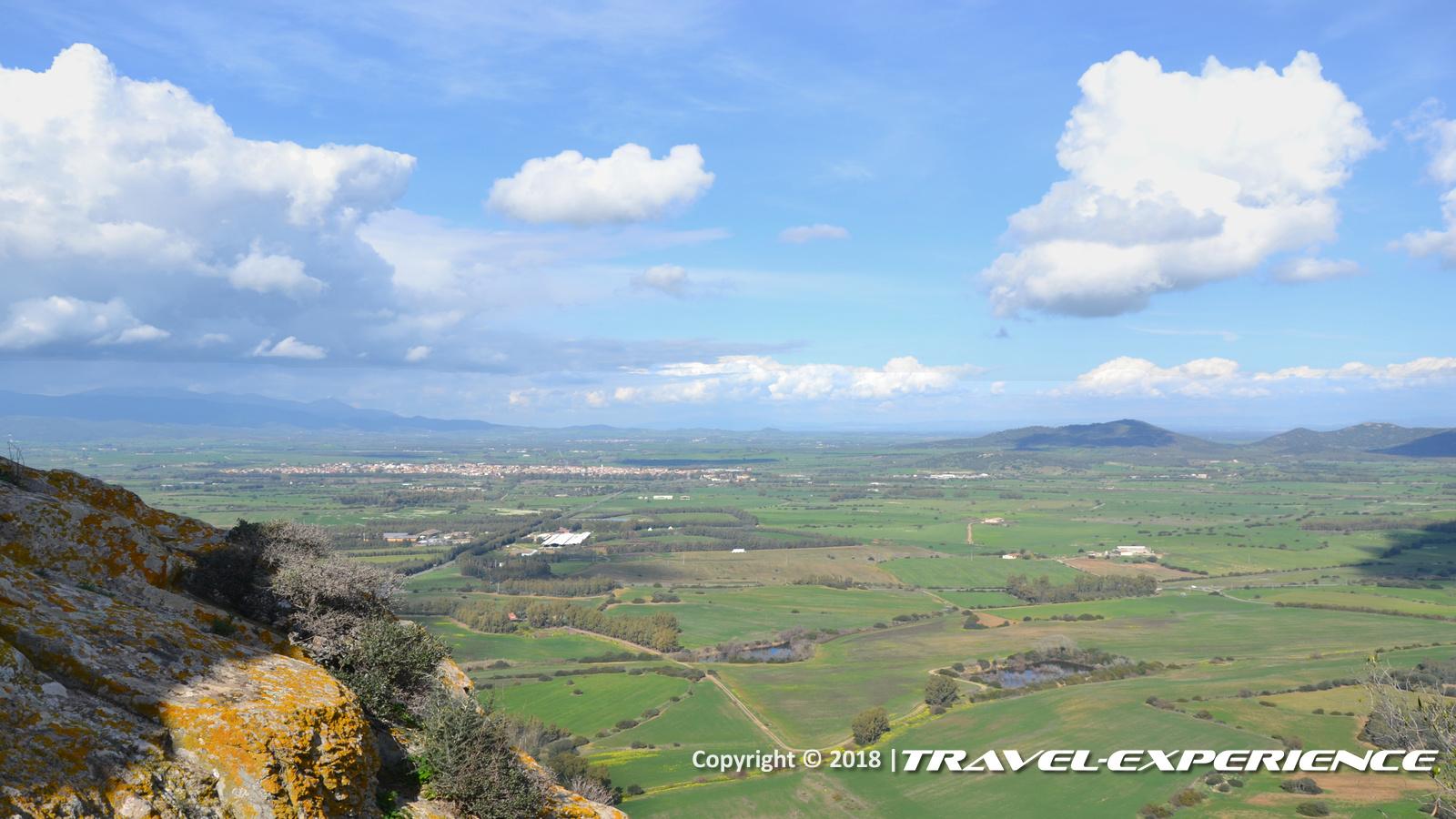 foto panorama dal Castello di Acquafredda