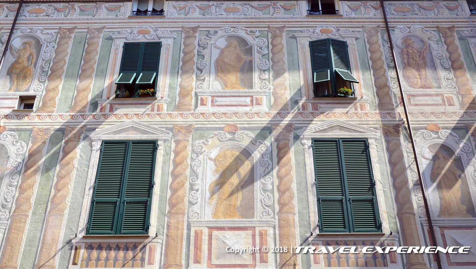 foto facciata palazzo Spinola di Campo Ligure