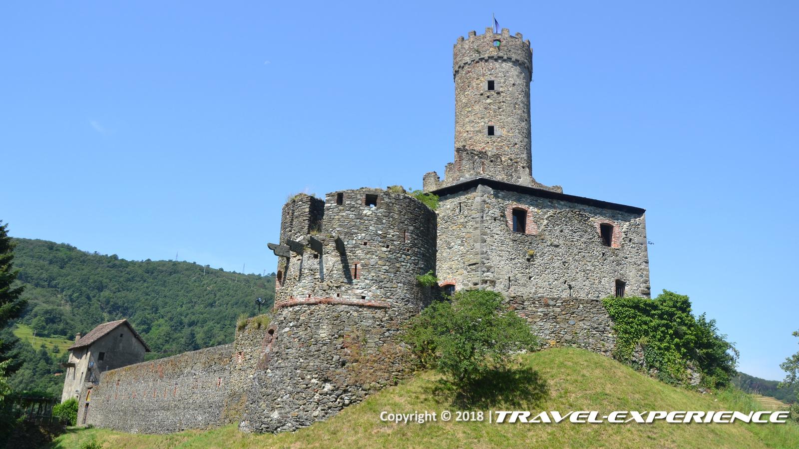 foto del castello di Campo Ligure