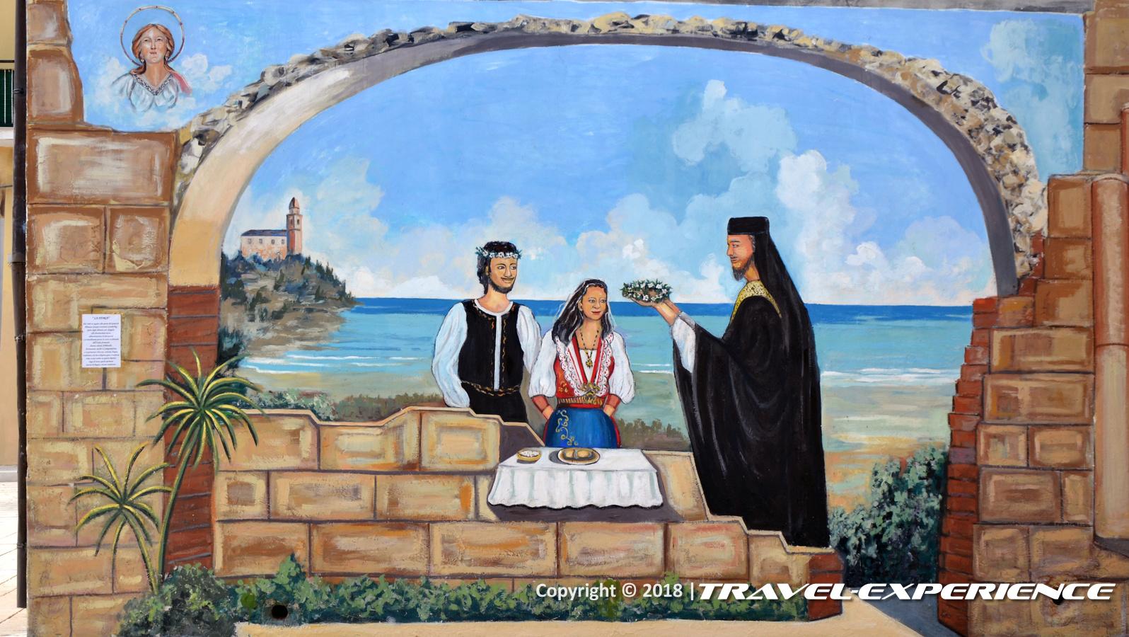 foto murales matrimonio di Campomarino