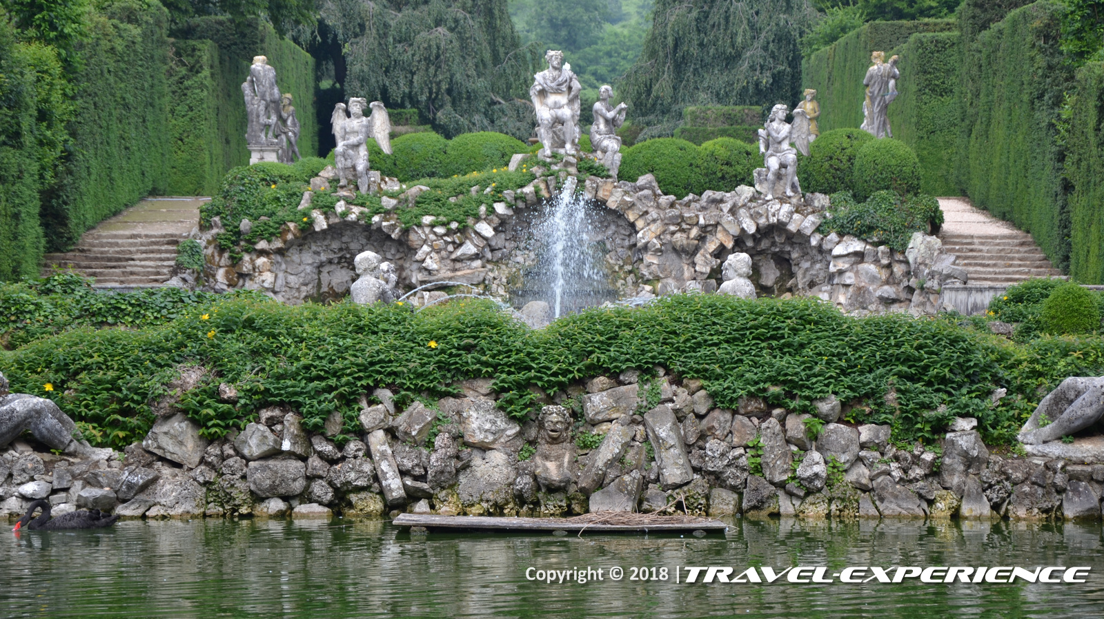 foto Peschiera dei Venti di Villa Barbarigo a Valsanzibio