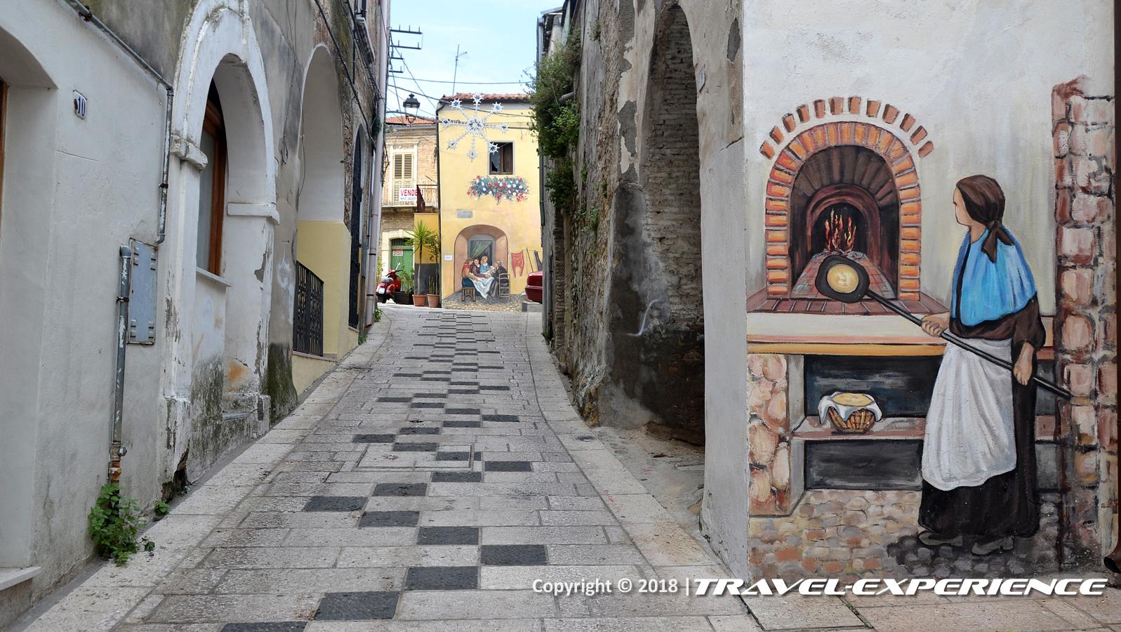 foto murale fornaia di Campomarino