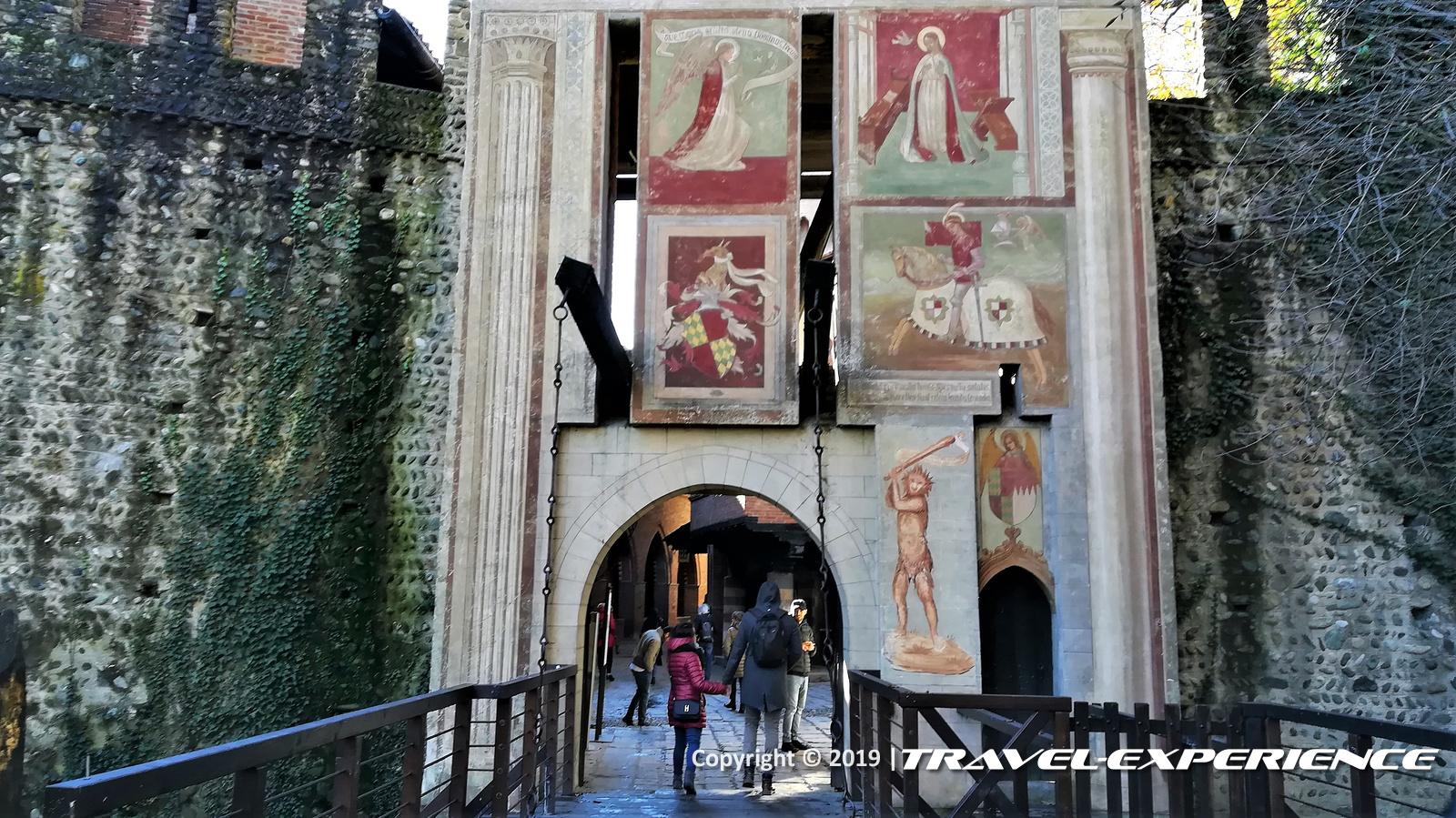 Porta d'accesso al Borgo Valentino di Torino