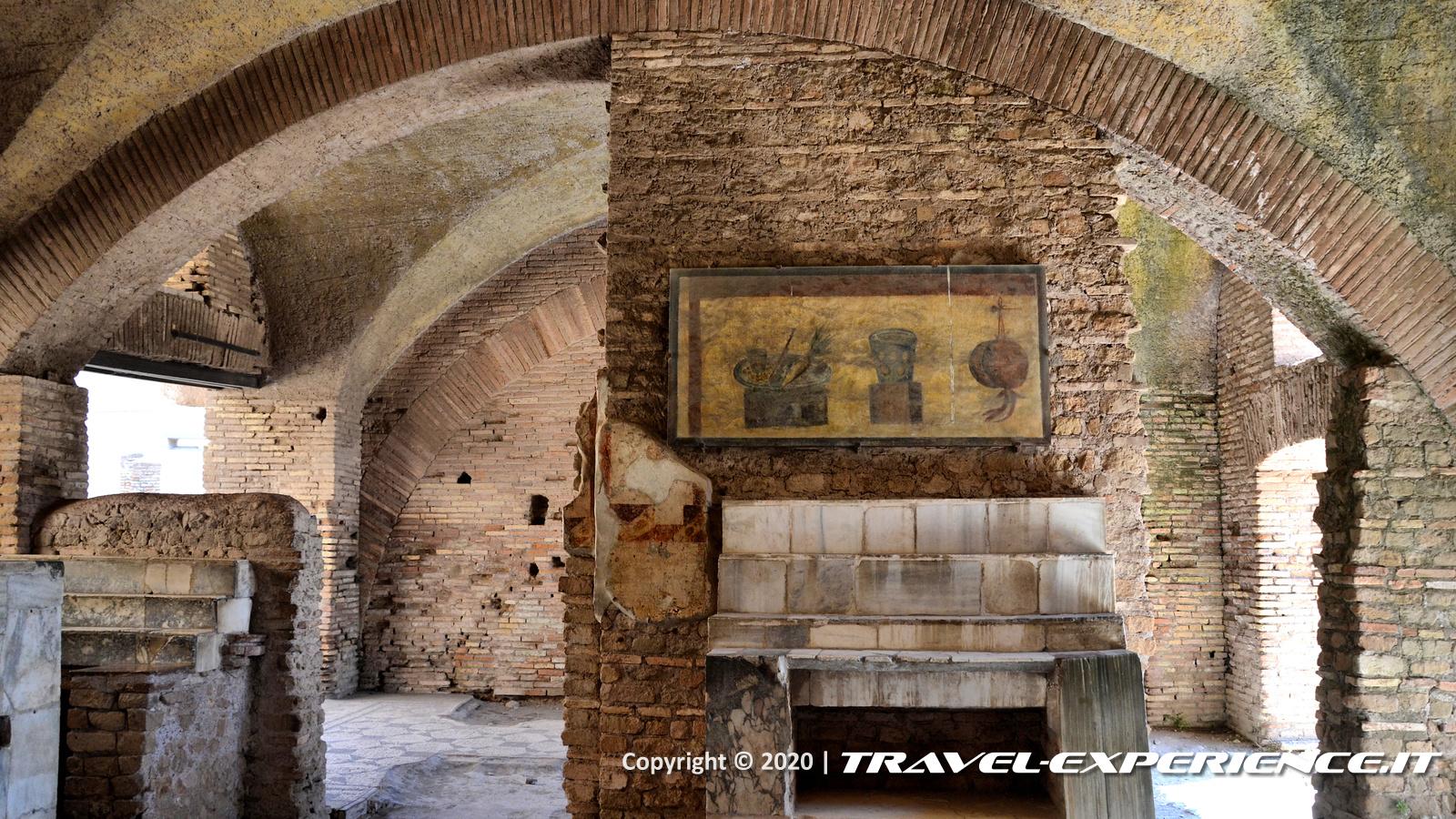 Ostia Antica, Thermopolium