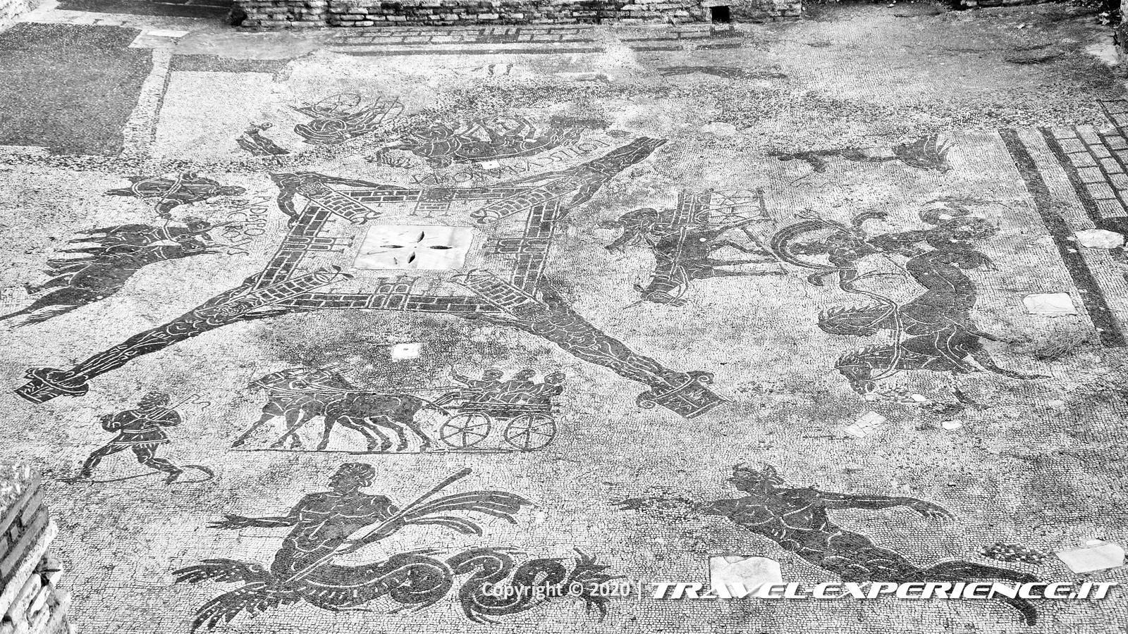 Ostia Antica, mosaico cisiarii