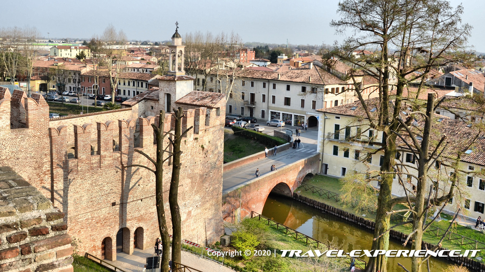 Vista sulla Porta Padovana di Cittadella (PD)