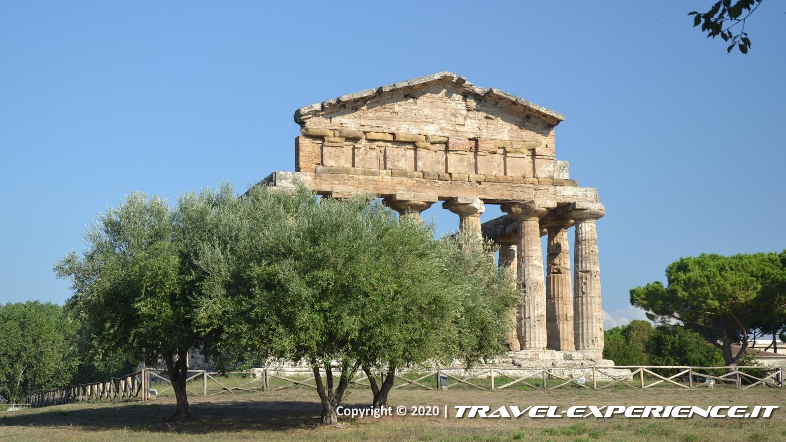 Paestum, tempio di Athena