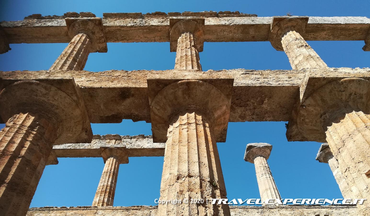Colonne del sito archeologico di Paestum