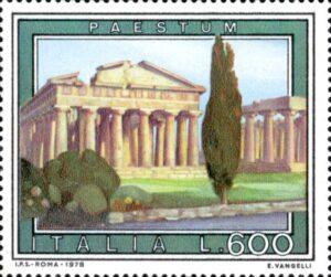 Francobollo Paestum