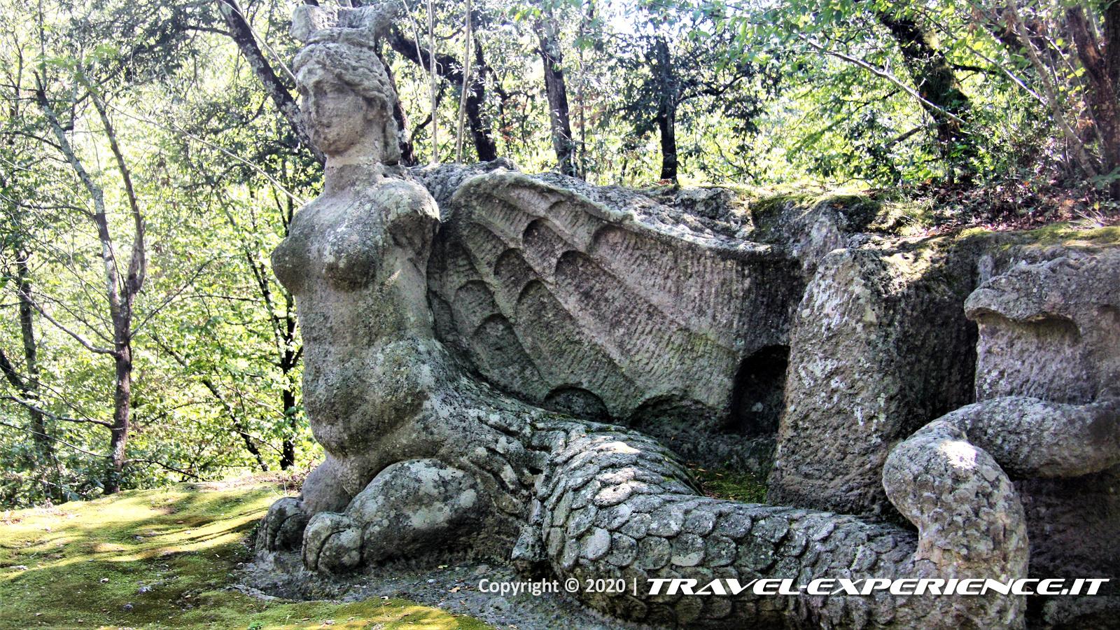 Il Parco dei Mostri di Bomarzo, bosco sacro di Bomarzo