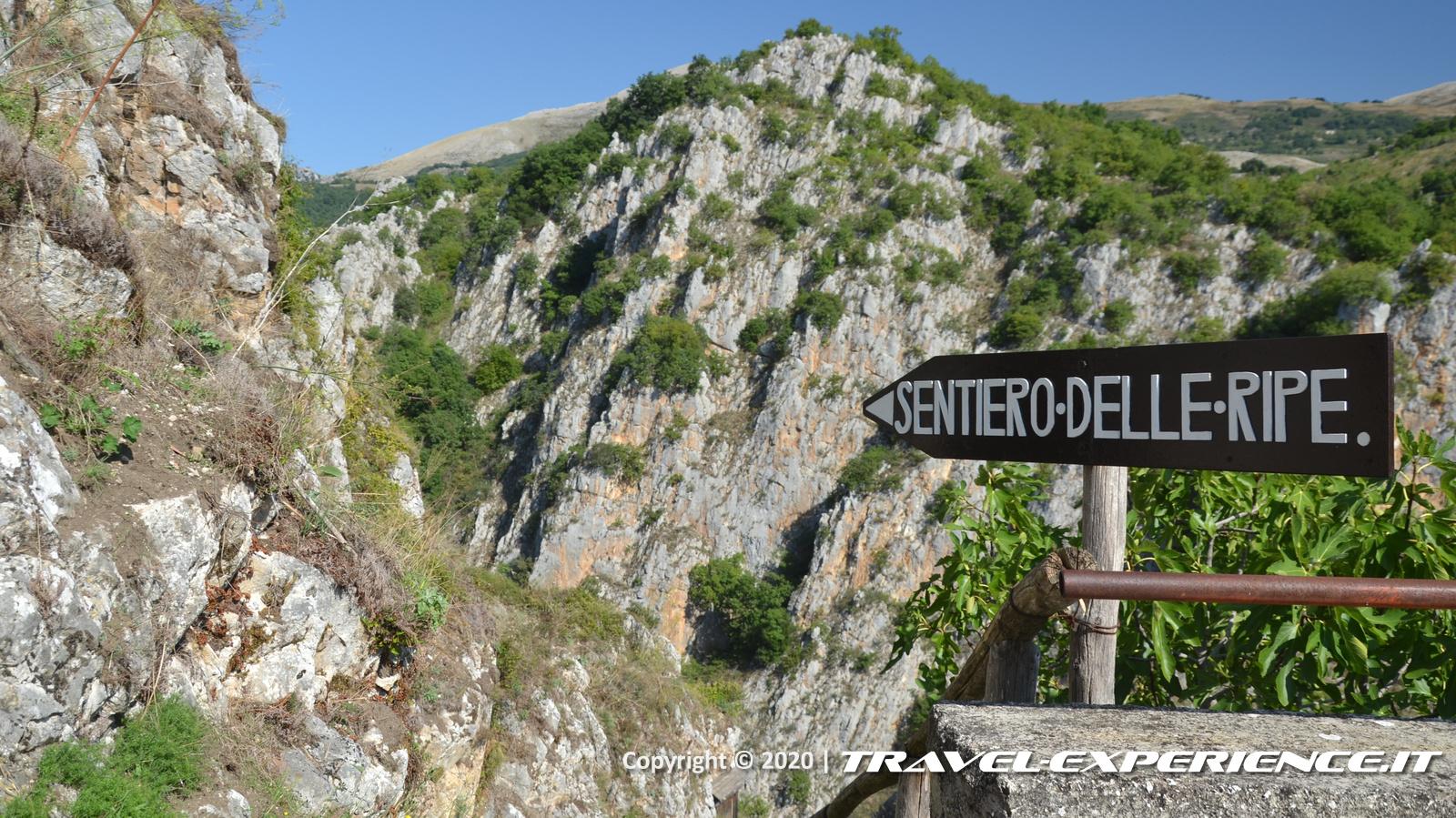 Muro Lucano, sentiero delle ripe
