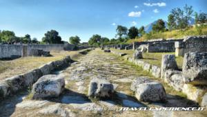 Passaggio pedonale romano ad Alba Fucens