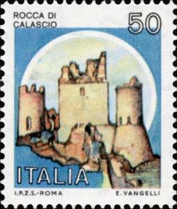 Francobollo Rocca Calascio