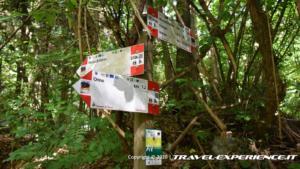 Sentiero per la Rocca di Orino