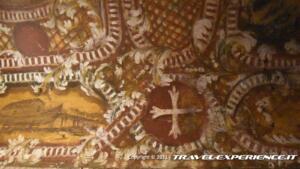 Affresco della cripta della chiesa di San Simeon Piccolo di Venezia