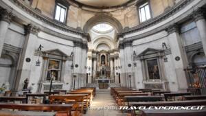 Interno della chiesa di San Simeon Piccolo di Venezia