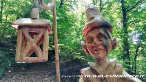 Sentiero delle Sculture di Sergio Terni, Caldana (VA)